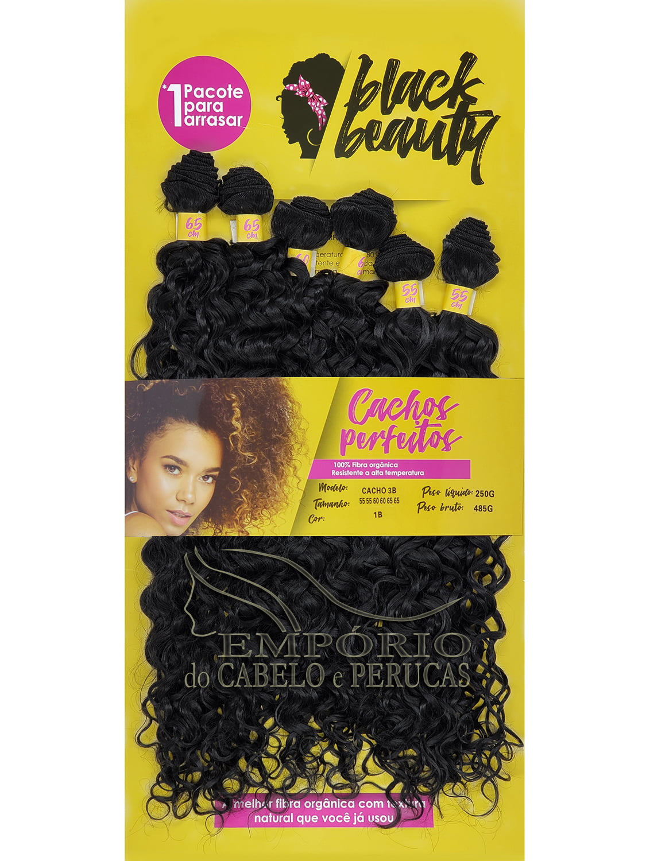 CABELO ORGÂNICO BLACK BEAUTY CACHO 3B
