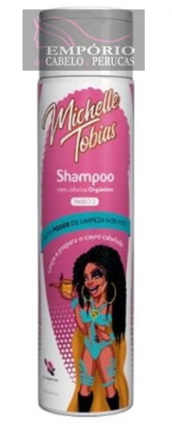 Shampoo Michelle Tobias Para Fibra Orgânica 200ml
