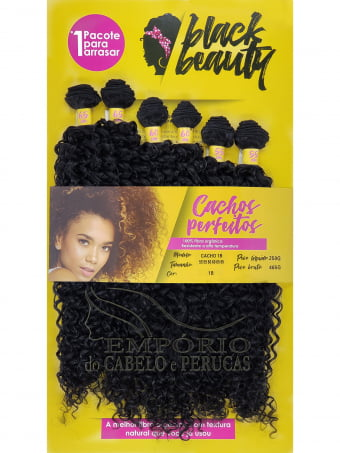 CABELO ORGÂNICO BLACK BEAUTY CACHO 1B