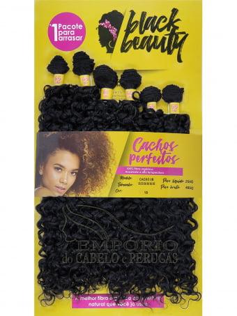 CABELO ORGÂNICO BLACK BEAUTY CACHO 2B